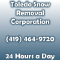Toledo Snow Removal Corporation